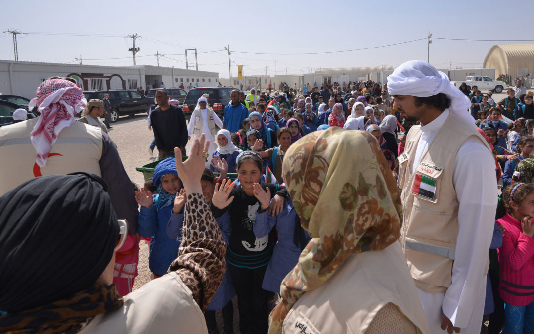 Jawaher Al Qasimi Announced as Patron of the global movement 'Jeans for Refugees'